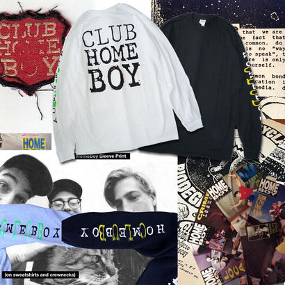 DEAR,  CLUB HOMEBOY L/S TEE
