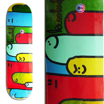 SALE! セール! KROOKED HOI POLLOI SPLIT STAIN DECK  (8.25 x 32inch)