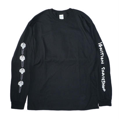 IGNITION SKATESHOP KEY L/S TEE