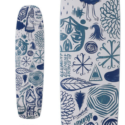 ELEMENT x THOMAS CAMPBELL EVERYTHING SHAPED DECK (7.75 x 30.75inch)