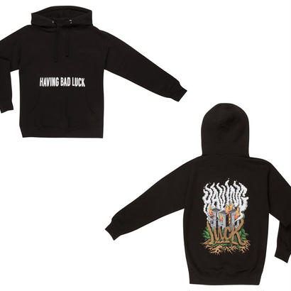 HAVING BAD LUCK ARSON HOODIE