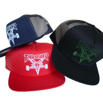 THRASHER  SKATE GOAT MESH CAP