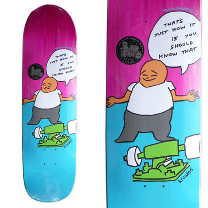 SALE! セール! KROOKED RONNIE SANDOVAL HOW IT IS DECK  (8.5 x 32inch)