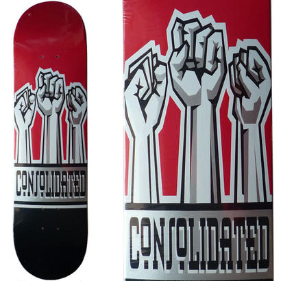 CONSOLIDATED  FISTS DECK  (8 x 31.4inch)