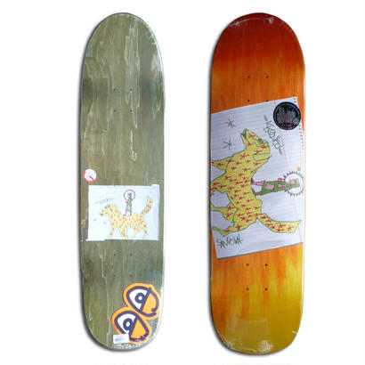 KROOKED RONNIE SANDOVAL NOMAD CUSTOM SHAPE DECK (8.5 x 32inch)