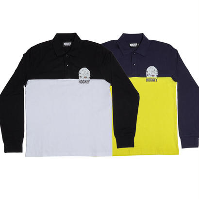 HOCKEY MASK L/S POLO
