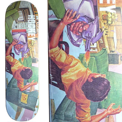 SALE! セール! HOCKEY  DONOVON PISCOPO  ULTORA VIOLENT DECK   (8.38 x 31.6inch)