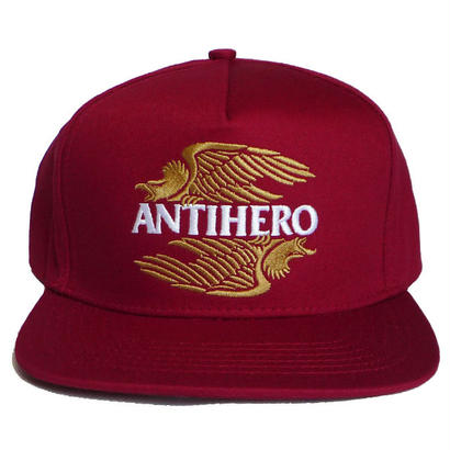 ANTI HERO AHXR EMBROIDERY SNAPBACK CAP