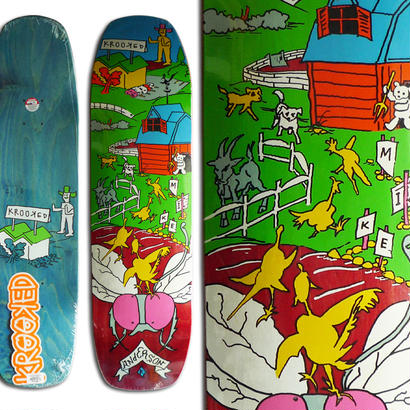 KROOKED MIKE ANDERSON FARM BOY DECK 21.6 x 81.3cm (8.5 x 32inch, WB14.5)