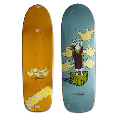 KROOKED MARK GONZALES ROOST OGA DECK (9.96 x 33.38inch)