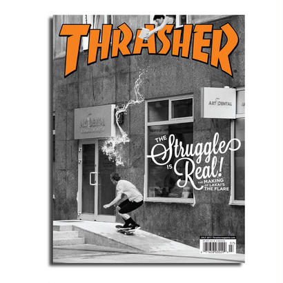 THRASHER MAGAZINE ISSUE #444 2017 JULY