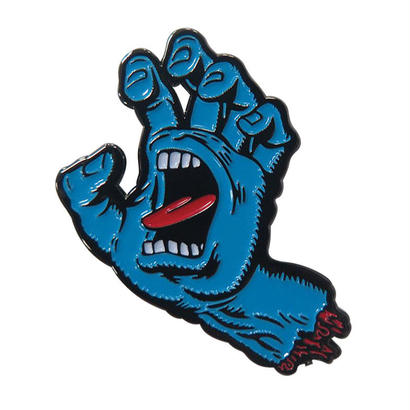 SANTA CRUZ SCREAMING HAND PUSH BACK PIN
