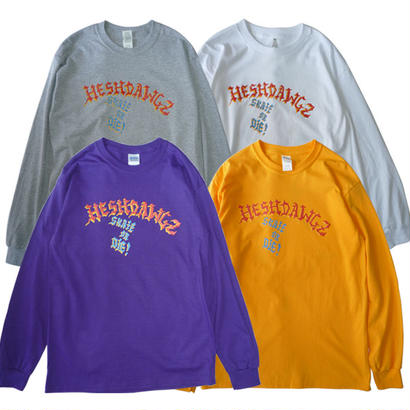 HESHDAWGZ x 4SIGHT x CHRIS LINDIG L/S TEE