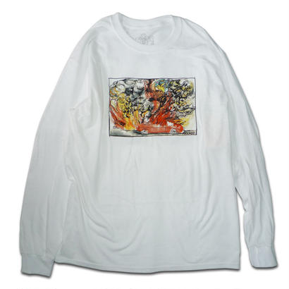 KROOKED FIRED UP L/S TEE