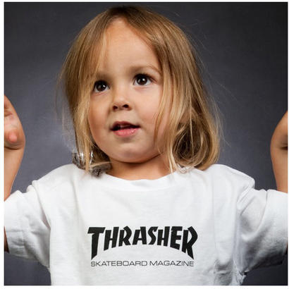 THRASHER  SKATE MAG TODDLER TEE