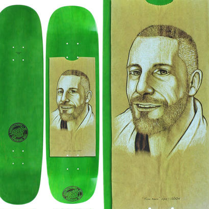 SANTA CRUZ TOM KNOX LUNCHBAG DECK (8.47 x 32.25inch)