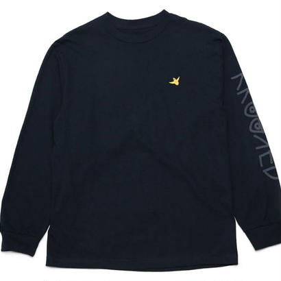 KROOKED OG BIRD EMBROIDERED L/S TEE