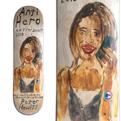 ANTI HERO PETER HEWITT A BITTER SWEET DECK  (8.62 x 32.56inch)