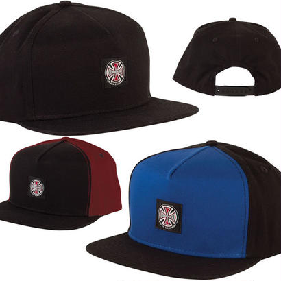 SALE! セール!  INDEPENDENT  T/C LABEL  SNAPBACK CAP