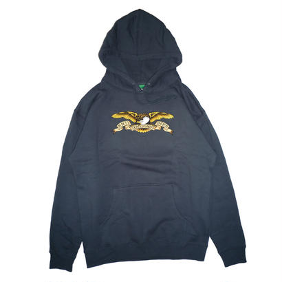 ANTI HERO STOCK EAGLE PATCH PULLOVER HOODIE