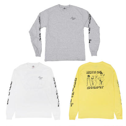 BOYS OF SUMMER SHRIMPIN L/S TEE