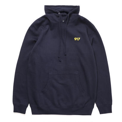 CALL ME 917 AREA CODE PULLOVER HOODIE