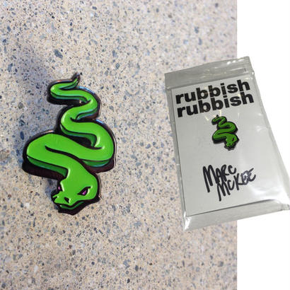 RUBBISH RUBBISH  MARC McKEE  SNAKE PINS