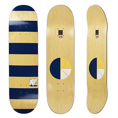 DEAR, x POLAR SKATE CO. BLOCK STRIPE DECK   (8.125 x 32inch)