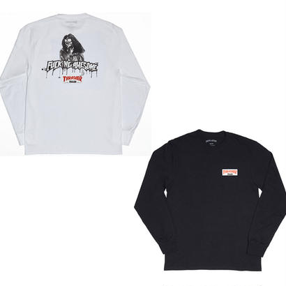 FUCKING AWESOME x THRASHER TRASH ME L/S TEE