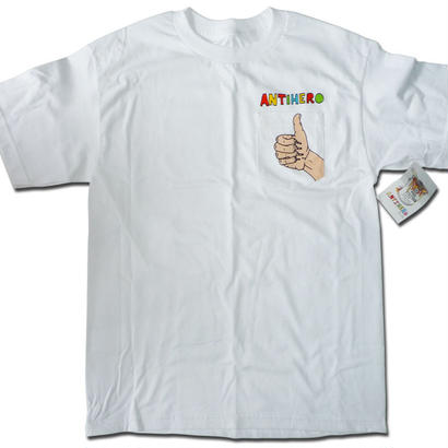 ANTI HERO POROUS WALKER THUMBS UP POCKET TEE