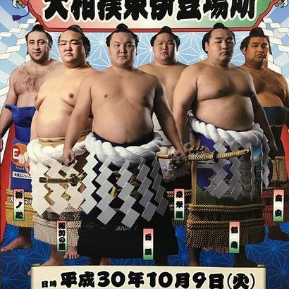 【10月9日(火)開催】大相撲東伊豆場所タマリA席(記念座布団付)