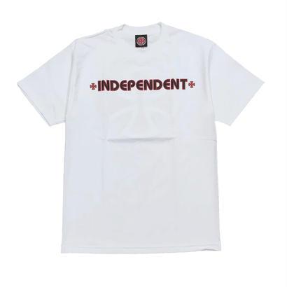 INDEPENDENT BAR/CROSS S/S REGULAR T-SHIRT