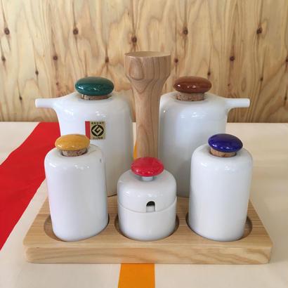 白山陶器 森正洋デザイン 調味料入れ デッドストック