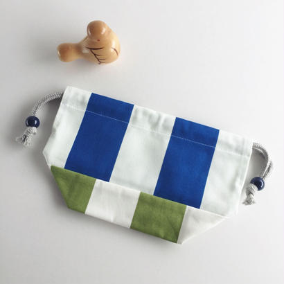 ●訳あり商品・限定1枚 ▽北欧柄▲お弁当袋(子供用)/mix