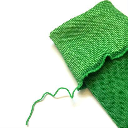 ヒムカシ靴下 / 毛靴下(セミロング丈) ロイヤルグリーン(ライトグリーン)