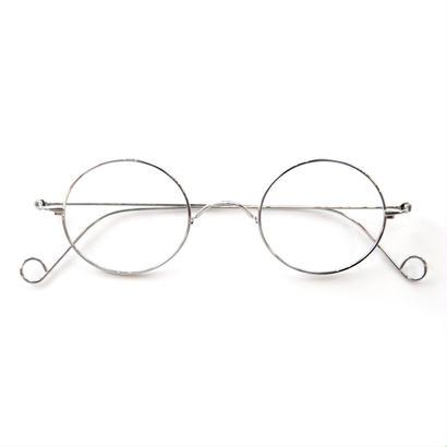 ヒムカシ眼鏡  / 白金一山式金棒組丁番眼鏡