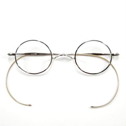 ヒムカシ眼鏡 / サンプラ一山式拾八鍍金縄手眼鏡 ラウンド