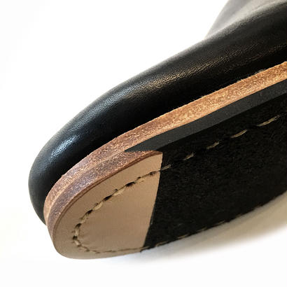 ヒムカシ製靴 / アルメニアスリッポン ver2.0 ブラック