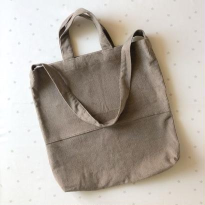 mama / corduroy shoulder bag