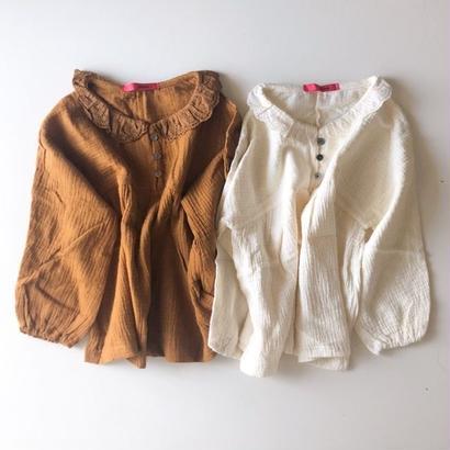 SALE / race collar blouse