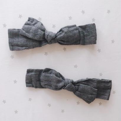 border ribbon hair band