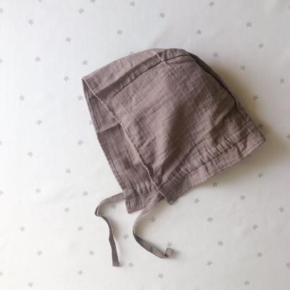 SALE / cotton bonnet