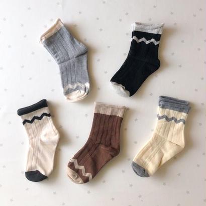 gizagiza ancle socks 5set