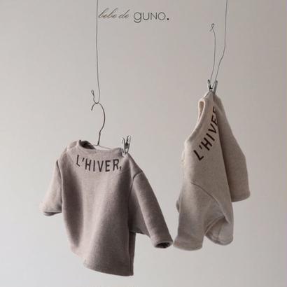 guno / baby /〝L'HIVER〟sweat