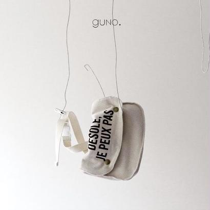 guno〝DESOLE JE PEUX PAS〟bag