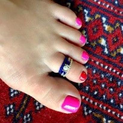 トゥーリング toe ring