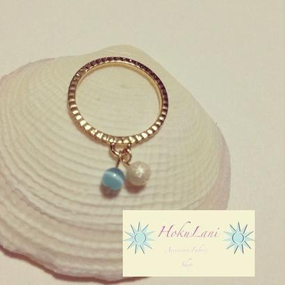 SlimDoubleBall Ring
