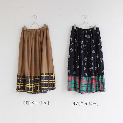 *SALE*[2017AW]スカート ドッグ&ベジタブル