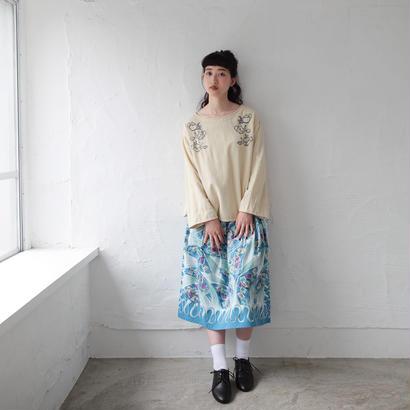 [2017AW]スカート ビンテージスタンプ