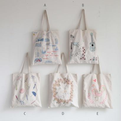 【クリックポスト】[2017SS]刺繍バッグ